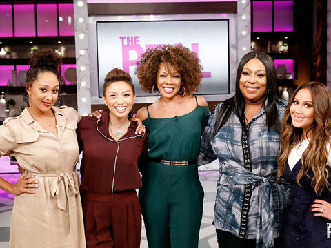 "Thursday on ""The Real"": Wendy Raquel Robinson!"