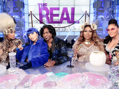Tuesday on 'The Real': Wayne Brady & Halloween Costume REVEAL!