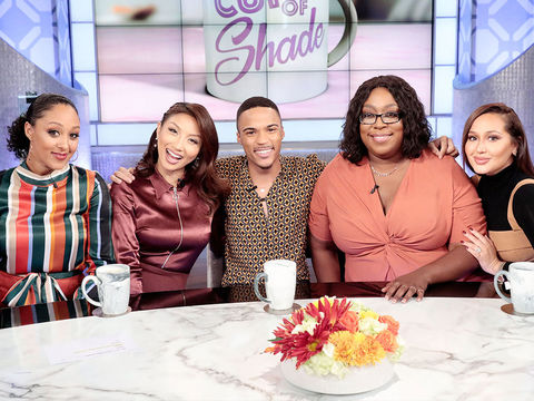Wednesday on 'The Real': Mom 411 & Cup of Shade!