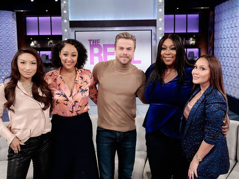 Wednesday on 'The Real': Derek Hough & Cup of Shade!