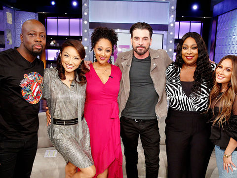 Monday on 'The Real': Wyclef Jean and Skeet Ulrich!