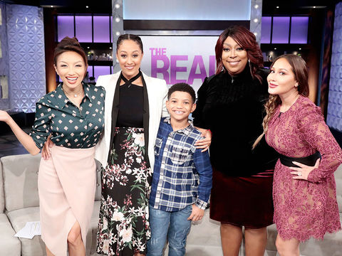 "Tuesday on 'The Real': Lonnie Chavis from ""This Is Us"""