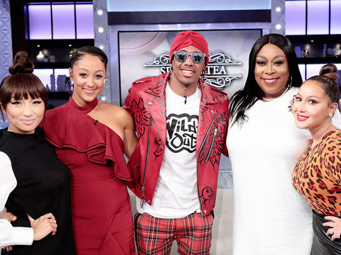 Tuesday on 'The Real': Nick Cannon!