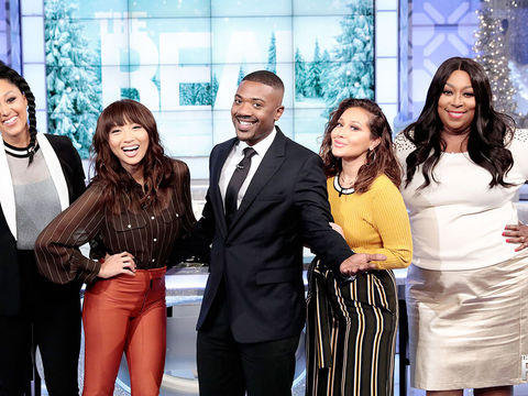 Monday on 'The Real': Ray J and T-Pain