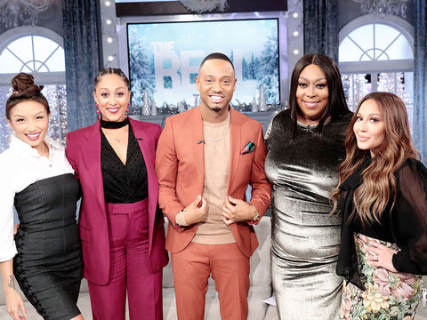 Wednesday on 'The Real': Terrence J, and Cup of Shade!