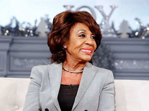 Congresswoman Maxine Waters On Her Go-To Confidantes