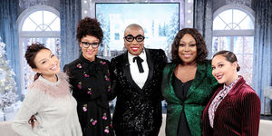 Monday on 'The Real': Aisha Hinds!
