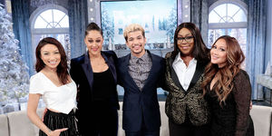 Wednesday on 'The Real': Jordan Fisher and Cup of Shade!