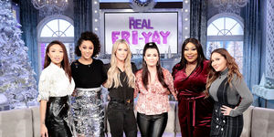 Friday on 'The Real': Kyle Richards and Teddi Mellencamp Arroyave!