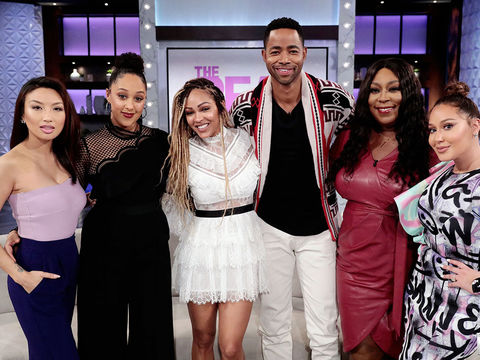 Tuesday on 'The Real': Meagan Good and Jay Ellis!