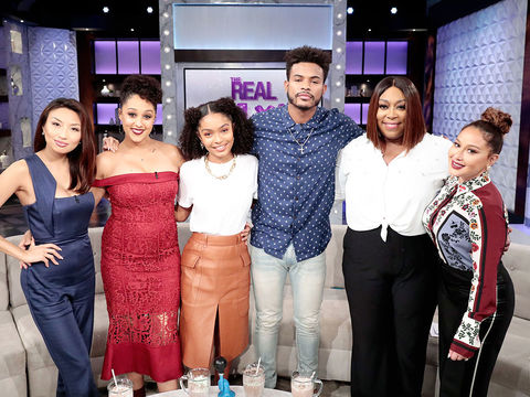 Friday on 'The Real': Yara Shahidi and Trevor Jackson
