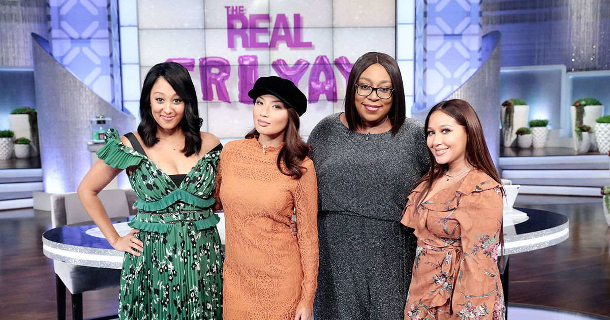 Friday on 'The Real': Tiny and Zonnique!