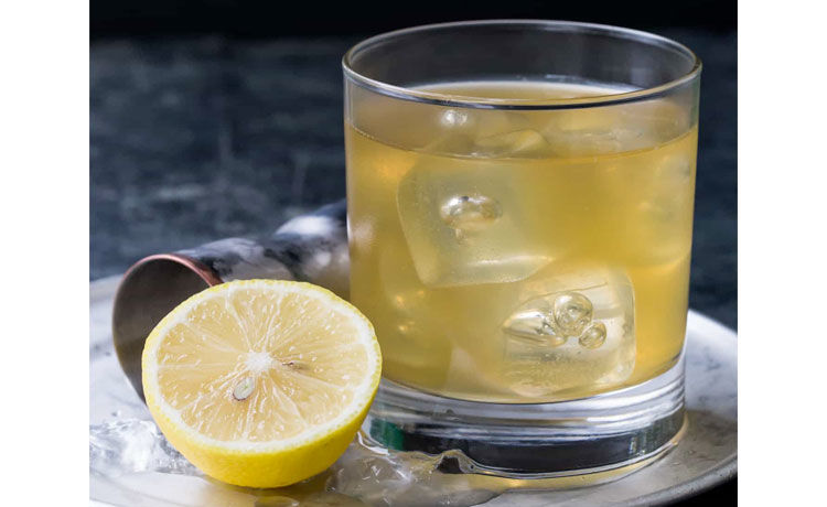 Gold Rush Drink Recipe