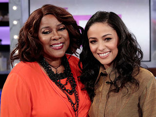 Loretta Devine and Meta Golding