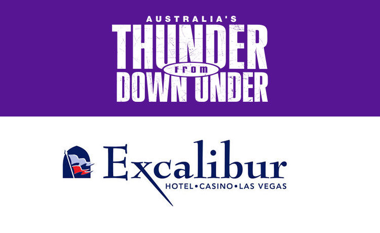 Australia's Thunder from Down Under & Excalibur Hotel & Casino Giveaway