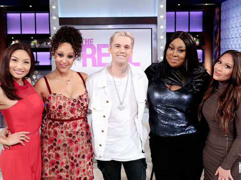 Thursday on 'The Real': Aaron Carter!