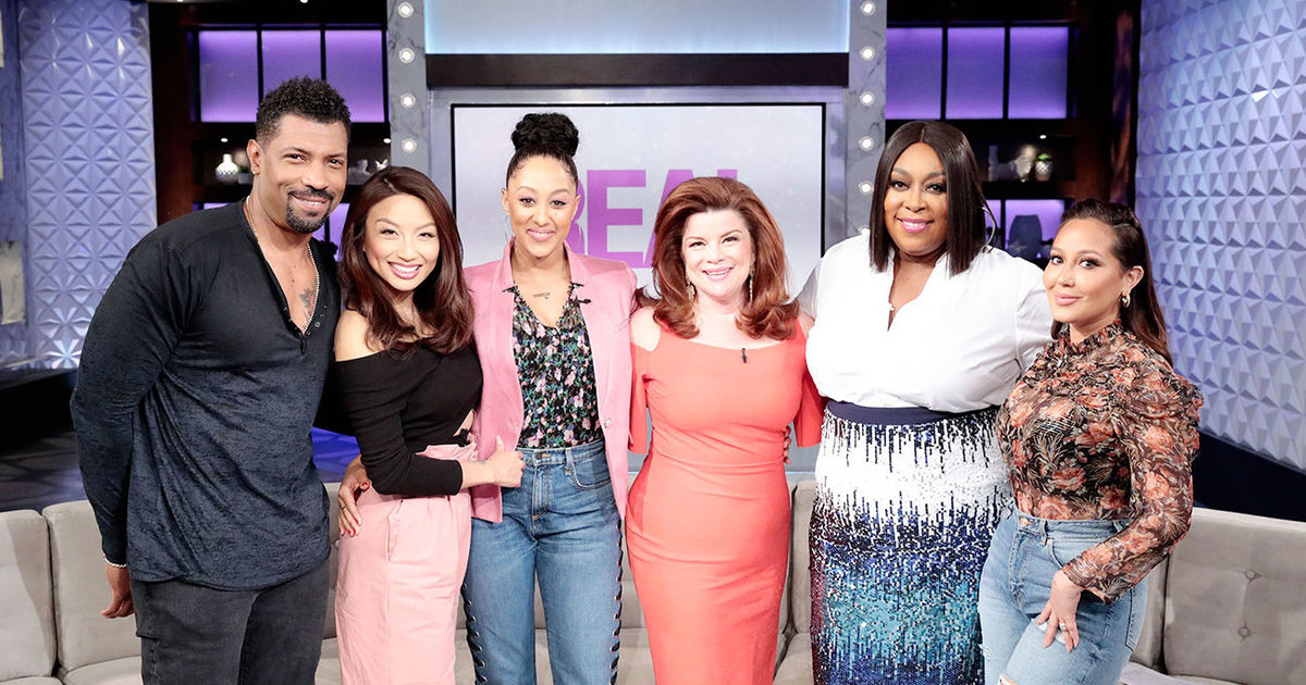 Tuesday on 'The Real': Deon Cole and Renee Lawless!