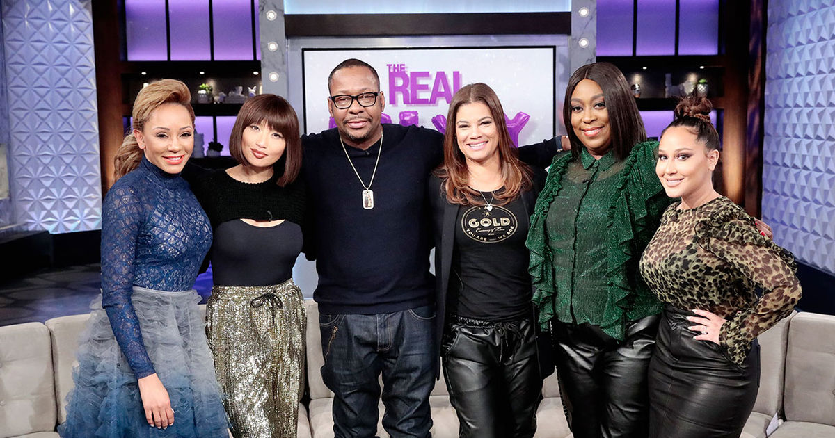 Friday on 'The Real': Mel B, Bobby Brown & Alicia Etheredge Brown