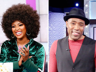 Guest Co-Host Amara La Negra, Cress Williams