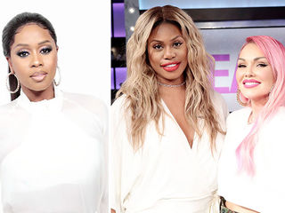 Guest Co-Host Remy Ma, Laverne Cox and Kandee Johnson