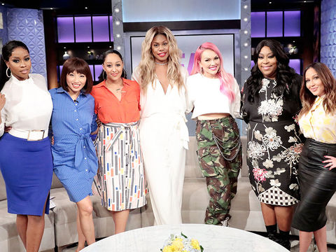 Thursday on 'The Real': Laverne Cox, Kandee Johnson, and Remy Ma!