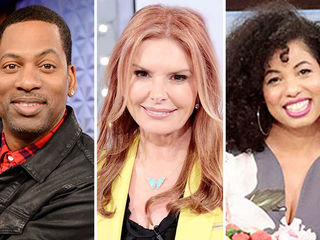 Guest Co-Host Tony Rock, Roma Downey, Jazz Smollett