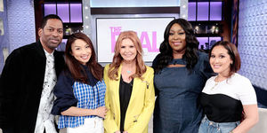 Wednesday on 'The Real': Tony Rock, Jazz Smollet, and Roma Downey!