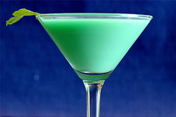 Green Grasshopper Drink Recipe
