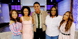 Tuesday on 'The Real': Keith Powers
