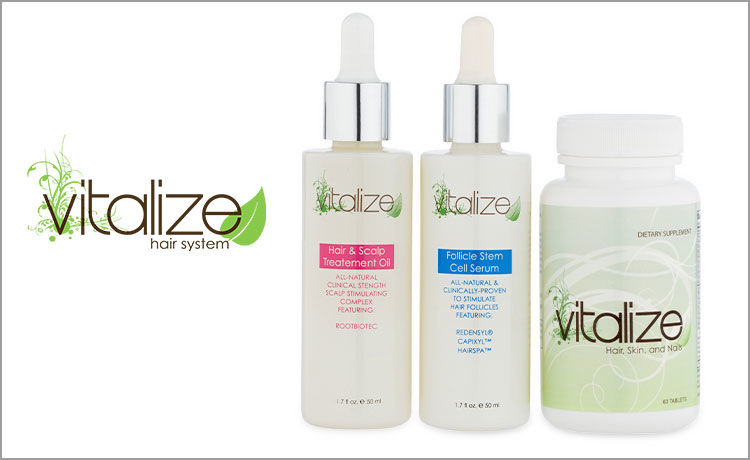 Vitalize Helps YOU Fight Hair Aging!