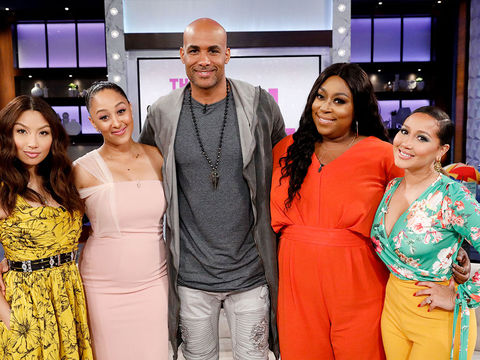 Wednesday on 'The Real': Boris Kodjoe