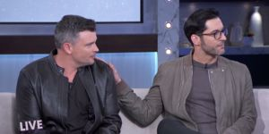 How Tom Ellis Took Co-Star Tom Welling by Surprise with a KISS!