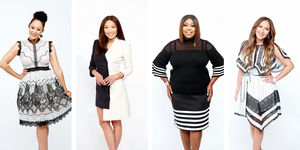 Look Chic in Black & White