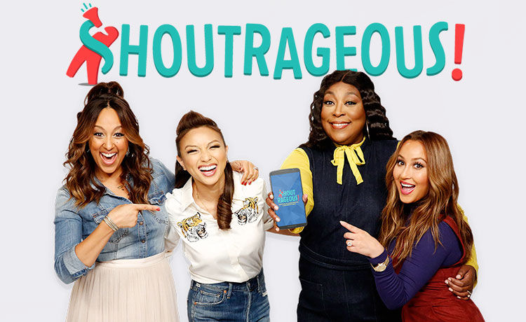 Shoutrageous Now Available for Apple AND Android!