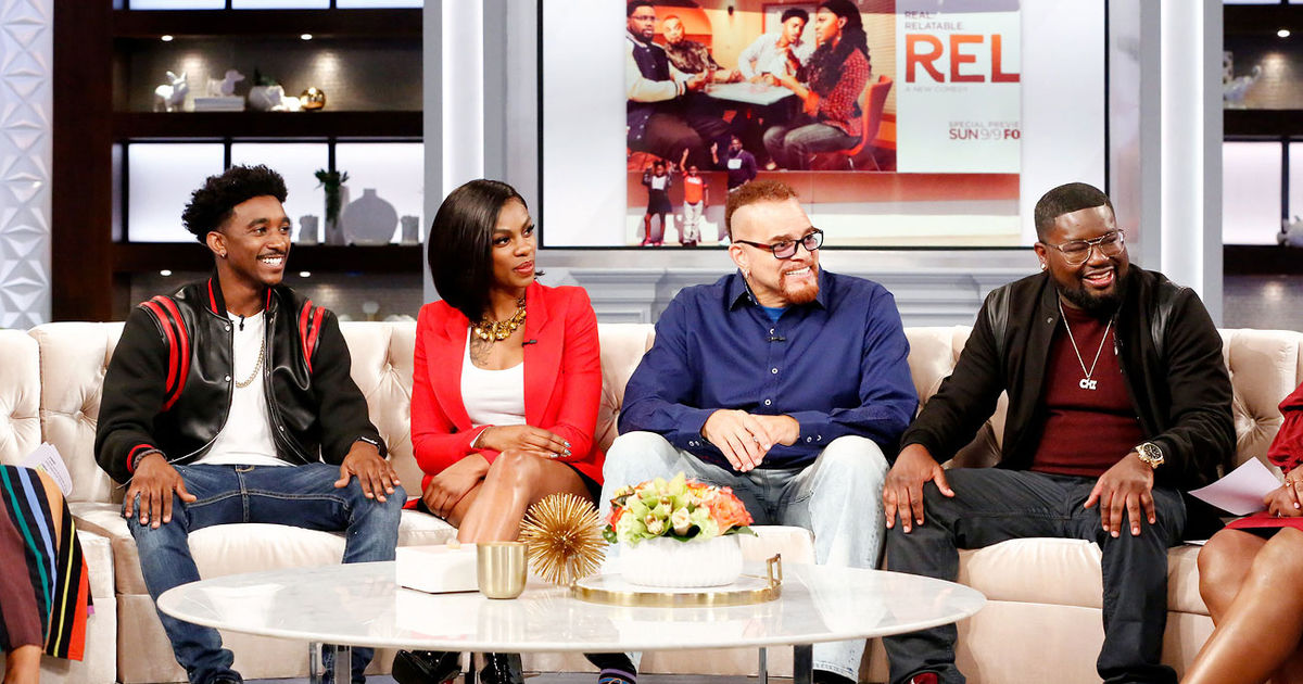 The Hosts Of The Real And The Cast Of Rel Thereal Com