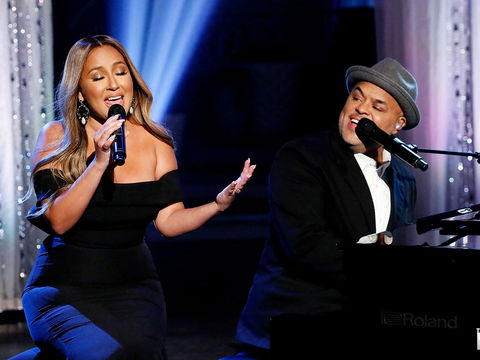 "Israel and Adrienne Houghton Perform ""Secrets"""