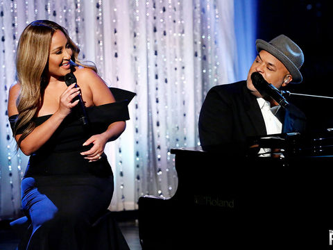 FULL PERFORMANCE: Adrienne & Israel Perform 'Secrets'