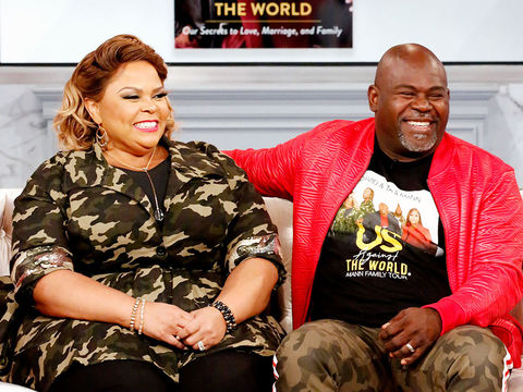 Tamela Mann Reveals A Secret From Her Memoir With Husband David!