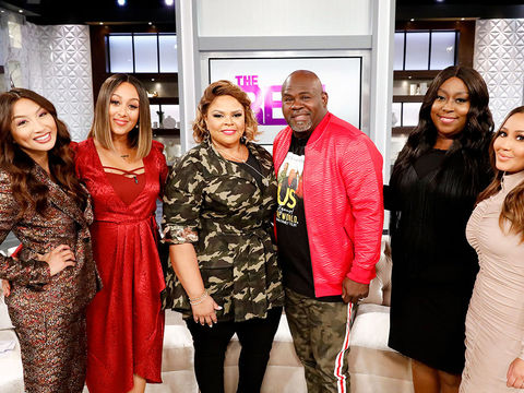 Wednesday on 'The Real': Tamela and David Mann