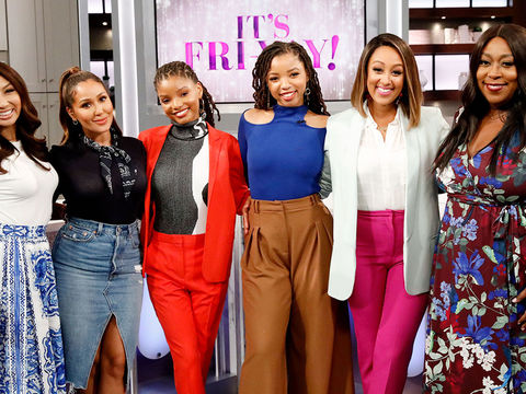 Friday on 'The Real': Chloe x Halle