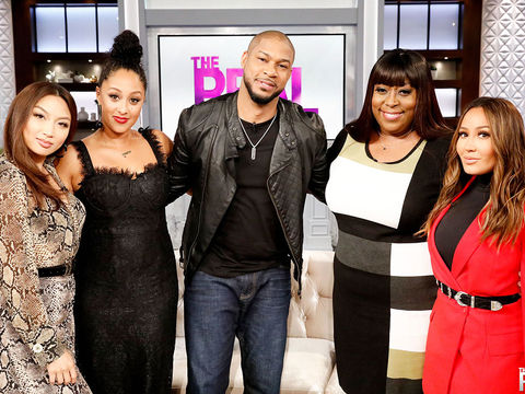 Monday on 'The Real': Finesse Mitchell