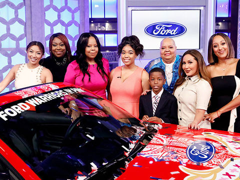 Ford Mustang Giveaway to Breast Cancer Survivor