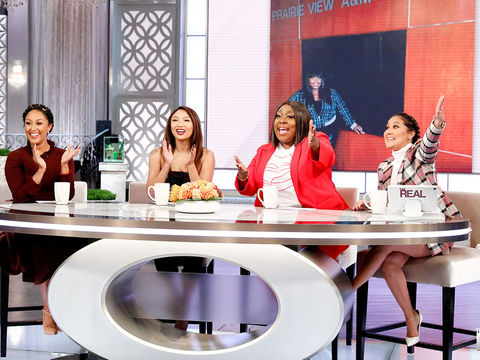 The Real Has a Surprise For Loni's Visiting Delta Sigma Theta Sorority Sisters!