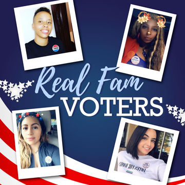 Real fam, we love seeing all the pictures of you out voting!