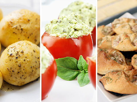 Fun & Tasty Appetizers for a Holiday Weekend!