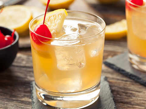 Whiskey Sour Cider Recipe