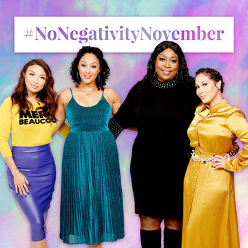 Real fam, we are love, love, LOVING your comments for #NoNegativityNovember!