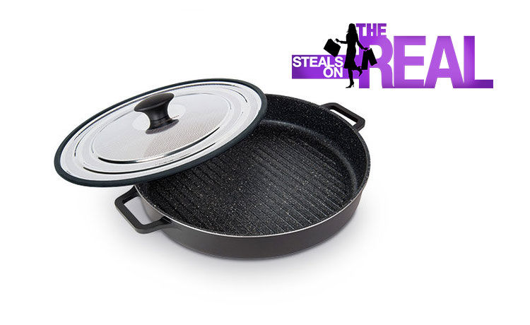 The Real Shop MasterPan Steam Grill Giveaway