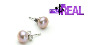 The Real Shop Pearl Earrings Giveaway