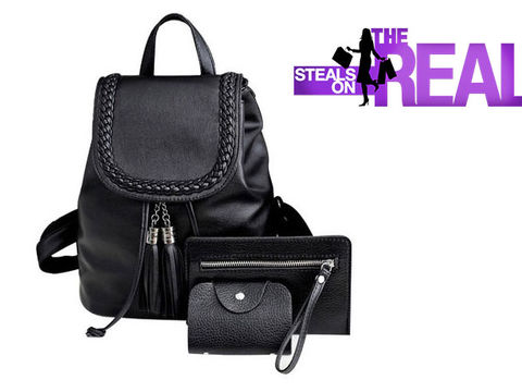 The Real Shop Raven Backpack Giveaway